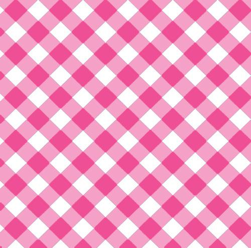 Pink Gingham Check Gift Wrap - The Preppy Bunny