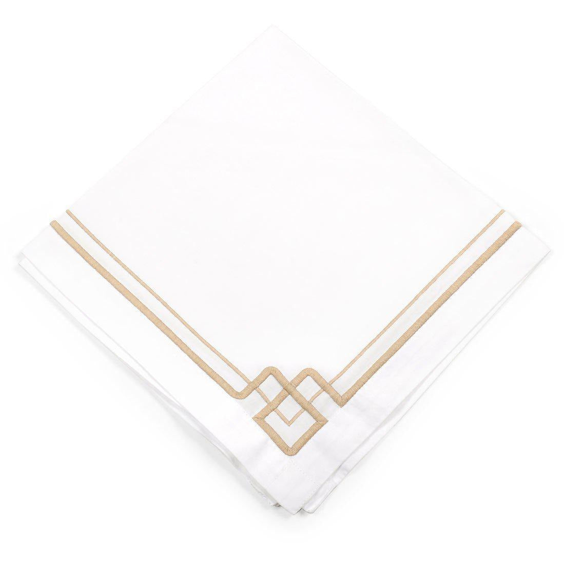Interlocking Key Dinner Napkins Set of 4 - The Preppy Bunny
