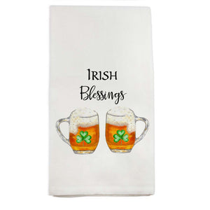 Irish Blessings Tea Towel - The Preppy Bunny