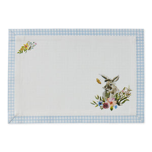 Garden Bunny Placemats - Set of 4 - The Preppy Bunny