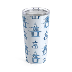 Large Pagoda Tumbler - The Preppy Bunny