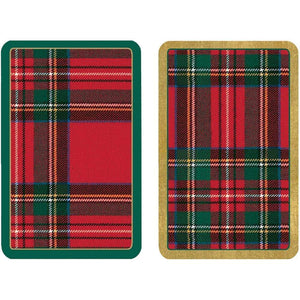 Plaid Large Type Playing Cards - 2 Decks Included - The Preppy Bunny