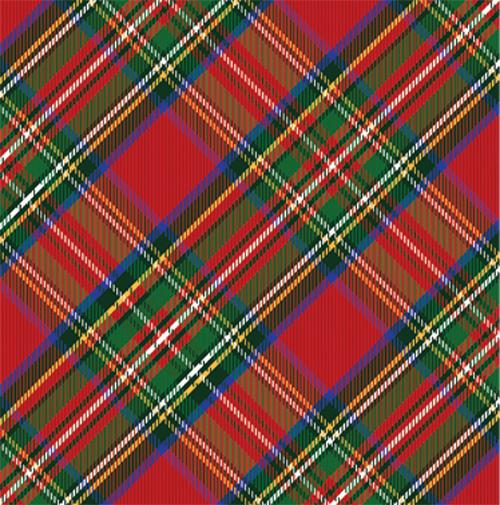 Red Tartan Plaid Wrapping Paper - The Preppy Bunny
