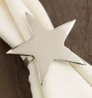 Star Napkin Rings Set of 4 - The Preppy Bunny