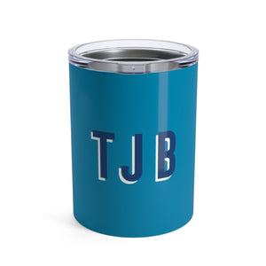 Small Solid Blue Tumbler - The Preppy Bunny