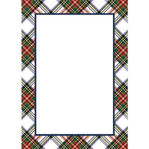 Stewart Plaid Notepad - The Preppy Bunny