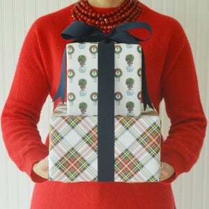Stewart Tartan Plaid Wrapping Paper - The Preppy Bunny