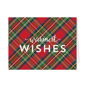 Red Tartan Folded Notecards Set of 10 - The Preppy Bunny