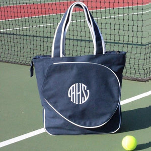 Monogram Tennis Tote - The Preppy Bunny