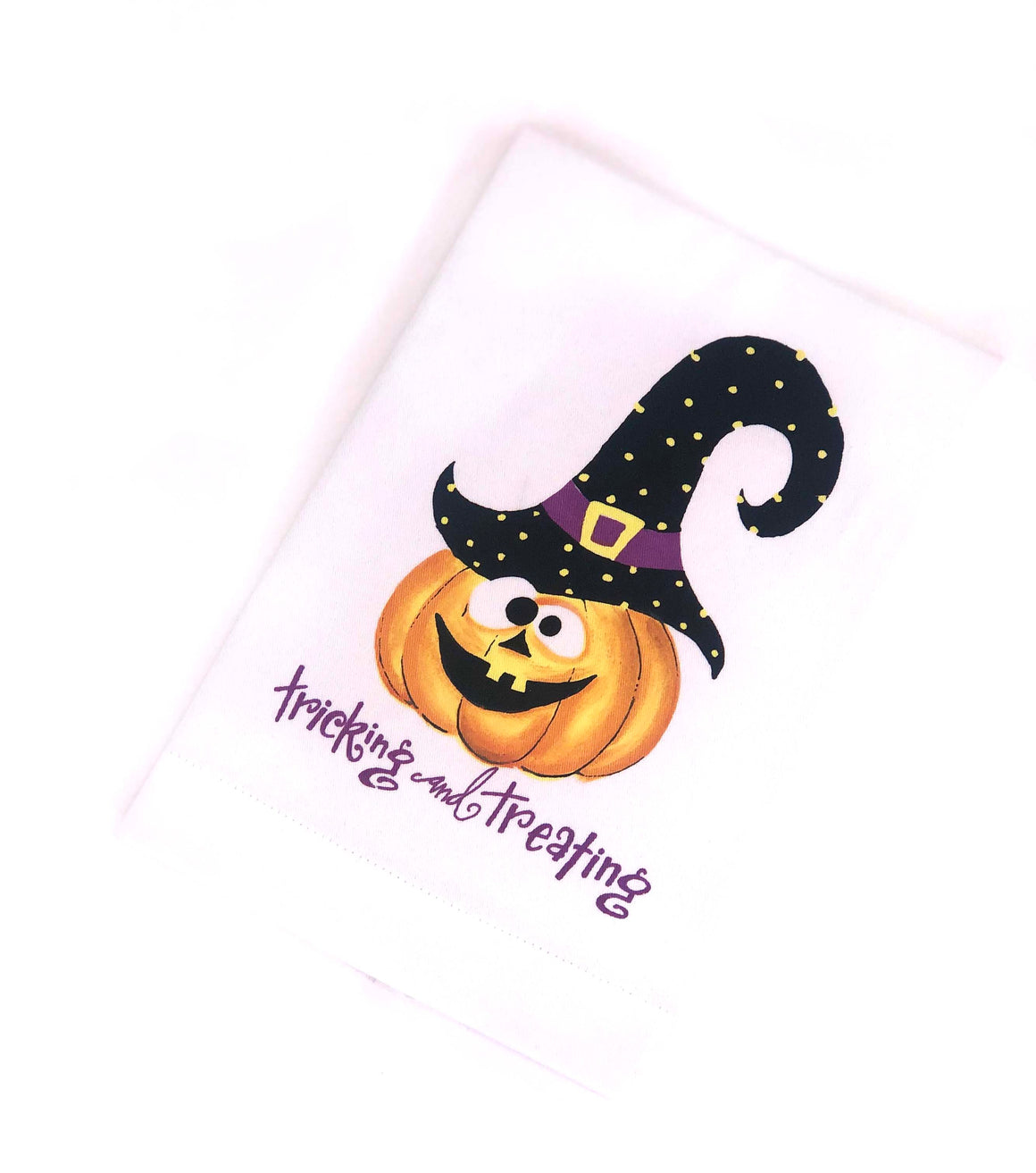 Tricking & Treating Guest Towel - The Preppy Bunny