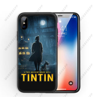 Tintin Soft Silicone Case for iPhone