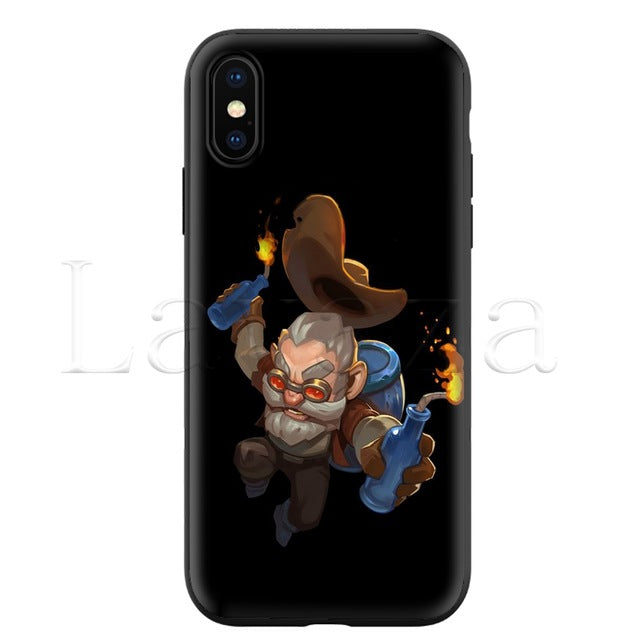 brawl stars Silicone Soft Case for iPhone
