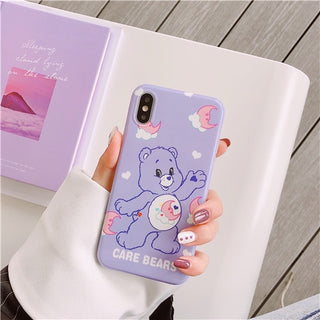 Cartoon silicone soft case for iphone