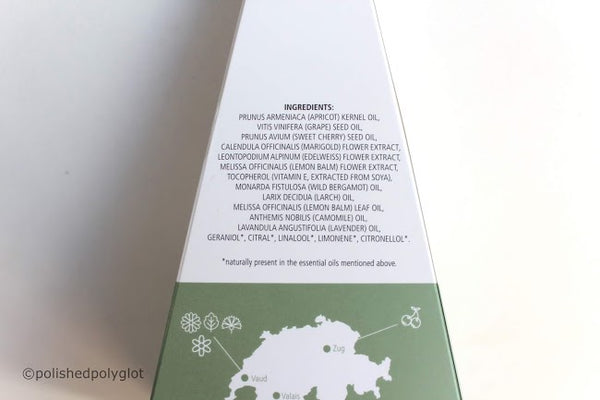 Wildhorn Swiss Alpine Regenerating Facial Oil by Polished Polyglot