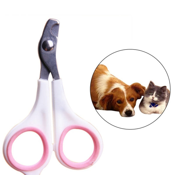 Pet  Stainless Steel Grooming Nail Clippers Scissors Trim