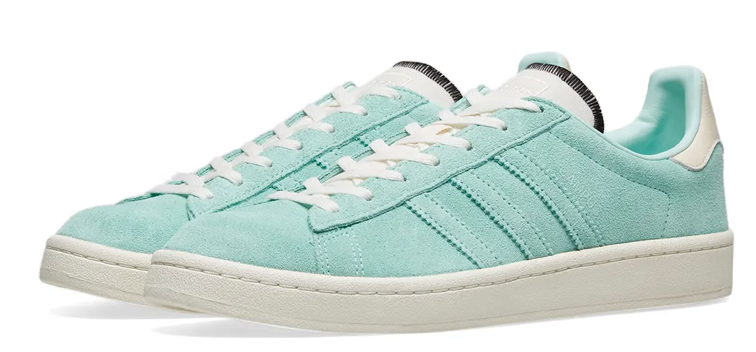 Adidas Womens – Campus Trainers – Clear