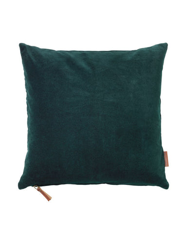 Cozy Living Soft Velvet Cushion DEEP FORREST