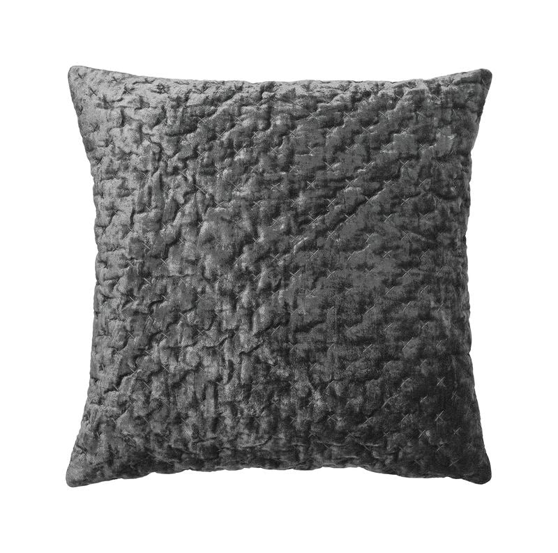 Cozy Living Luxury Velvet cushion - STEEL
