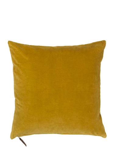 Cozy Living Soft Velvet Cushion CURRY