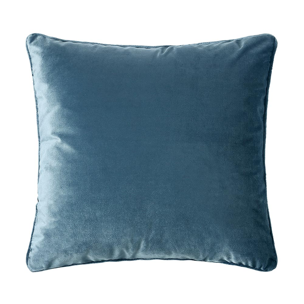 Scatter Box Bellini Velvet Velour Cushion Blue