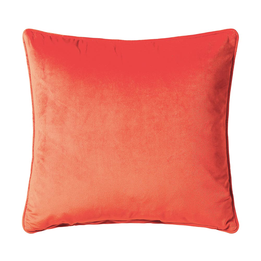 Scatter Box Bellini Velvet Cushion Orange