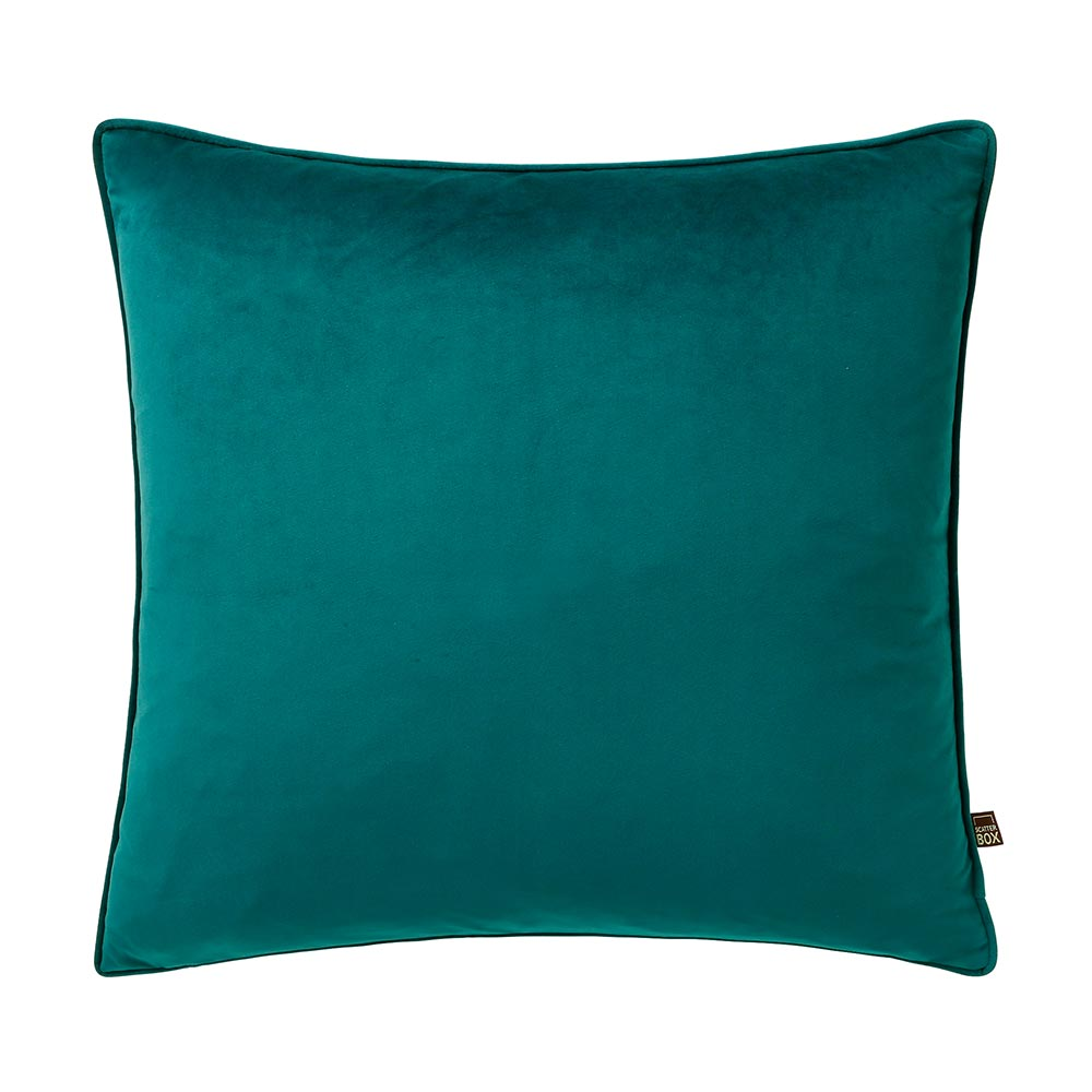 Scatter Box Bellini Velvet Velour Cushion Teal