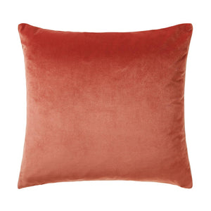 Scatter Box Bellini Velvet cushion Peach