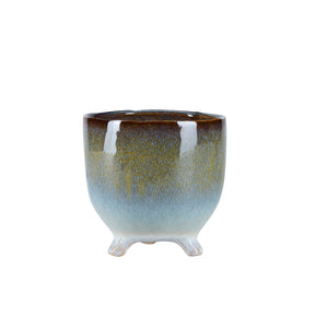 Bahne Ceramic Flower Pot  Multi -Colour