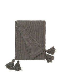 Cozy Living Soft Knit Throw MUD