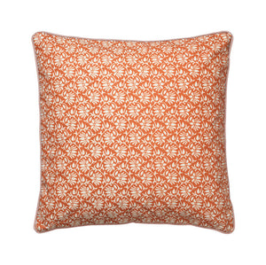 Cozy Living Viticella Flower  Cushion  SPICE