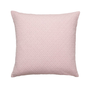 Cozy Living Holly Waffle Cushion  Rose
