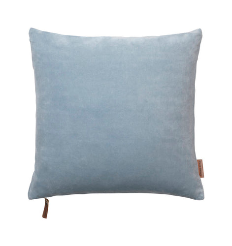 Cozy Living Soft Velvet Cushion DUSTY BLUE