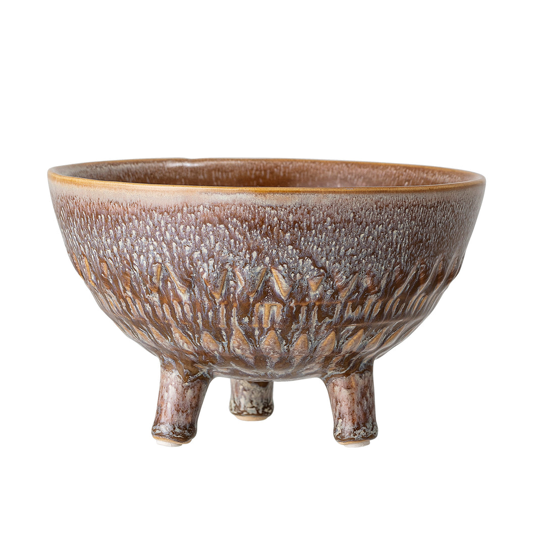 Bloomingville stoneware Planter Brown