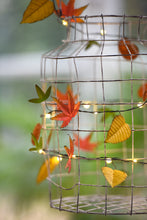 Autumn Leaves  Handmade Metal Fairy Lights ( Battery Operated)