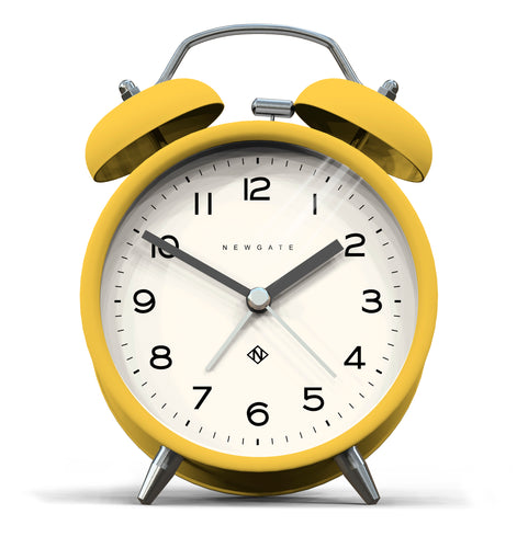 Newgate Echo Alarm Clock  Cheeky Yellow