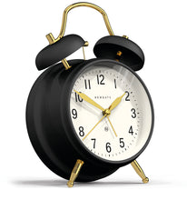 Newgate Brick Lane Alarm Clock Black/Brass