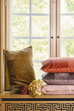 Cozy Living Corduroy Herringbone Cushion- CEDAR