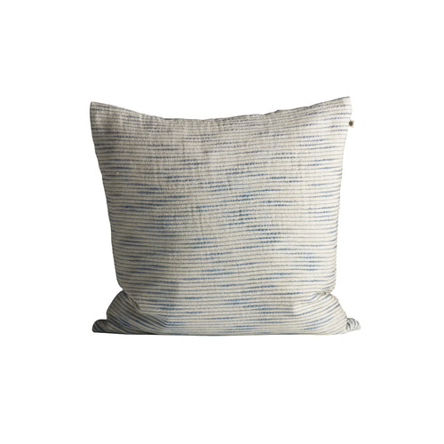 Tine K Slub Cotton Cushion  Azul