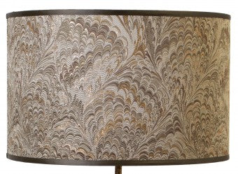 Watt & Veke Feather Lamp Shade GOLD  40cm