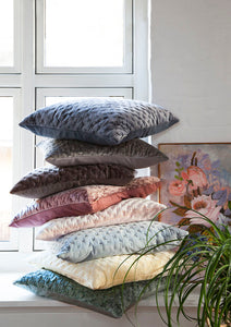 Cozy Living Luxury Velvet Cushion -MOSS