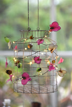 Orchid Handmade  Metal Fairy Lights ( Battery Operated)