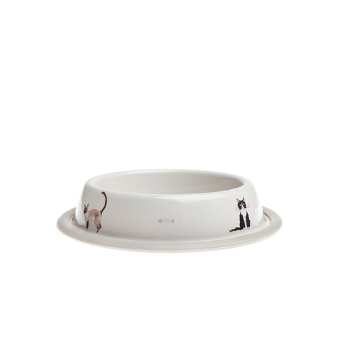 Sophie Allport Cat Bowl Purrfect