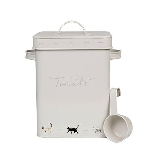 Sophie Allport Pet Food Tin Purrfect