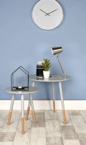 Leitmotiv Z Table Lamp Silver