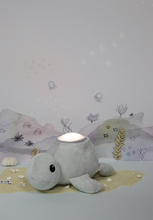 Teeny & Tiny Georgie The Turtle Tap  Night Light Pink