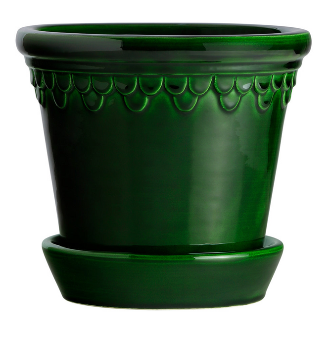 Bergs Potter Copenhagen Planter Green Emerald