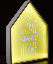 Home Sweet Home Led Light Box