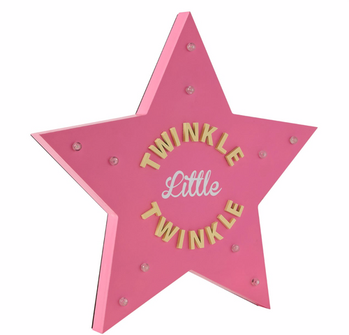 Twinkle Star Led Light