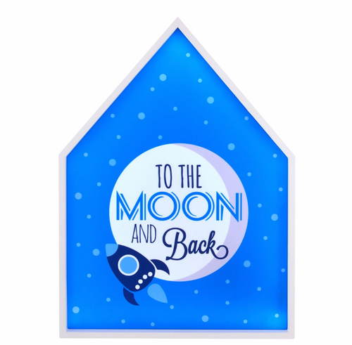 To The Moon And Back Led  Light Box