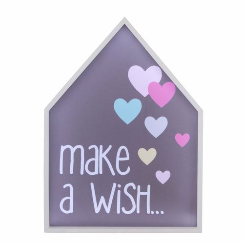 Make A Wish Led Light Box